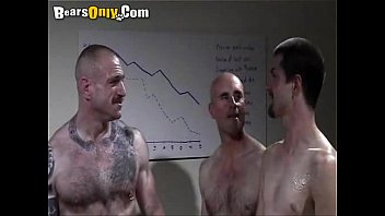 Gay bear suit - Handsome studs in office suits