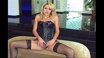 Stockings and corset