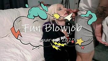 A short funny blowjob clip