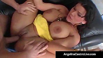 Cuban BJ Queen Angelina Castro Gets A Big Cock and Facial!