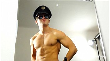 WORSHIP WITH YOUNG COP - PART I, II, III, IV - 075, 076, 077, 078 spitting boot hunk