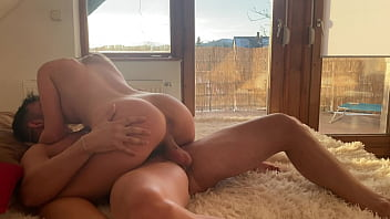 Homemade sex with beautiful blonde girl