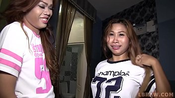 Threesome With Ladyboy And A Girl