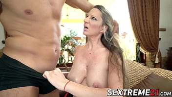 Amazing GILF Conchita fucked in many different poses