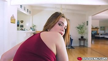 Ikes big cock swallow by Peyton Robbie deep throat