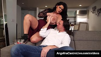 Cuban BBW Angelina Castro Has Threesome With Roberta Gemma! Image