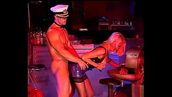 Very Sexy Big-Tits Blonde in Latex fucked hard, Helen Duval