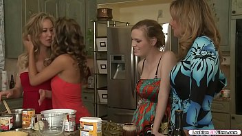 Stepmom licks and fingers her stepteen video
