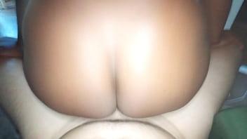 Slut begging me for back hole sex  while i Record