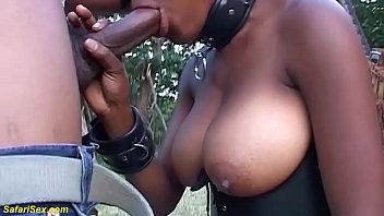 monster boob african fetish milf gets big cock fucked