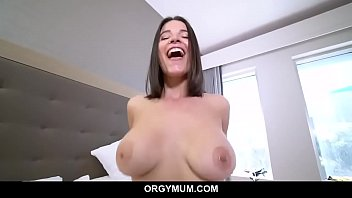 Horny Milf gets caught fingering Herself
