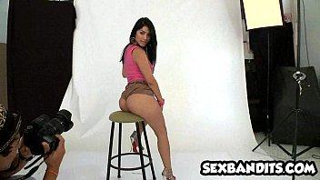 18 Latina Kim Kardashian look alike fucks like crazy 03