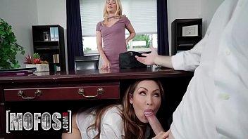Share My BF - (Yasmin Scott, Brick Danger, Riley Star) - Boss Shares Wife With Hot Secretary - MOFOS