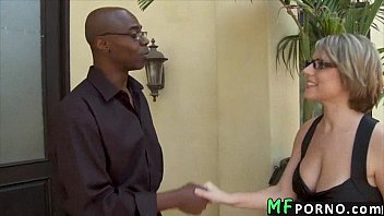 Teacher with glasses tries big black dick Velicity Von 1