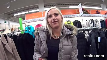 Perfect czech cutie was seduced in the supermarket and drilled in pov