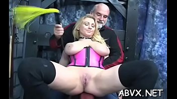 Remarkable perfection and perky nipples is riding a sex-toy
