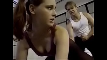 Gymnast and Her Trainer