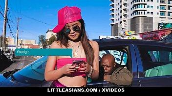 LittleAsians - Petite Asian Cutie (Elle Voneva) Sucks And Rides Big Black Cock 12 min