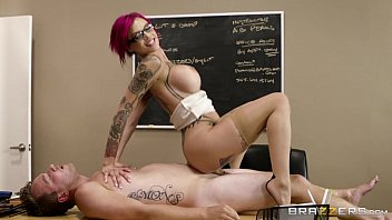 Brazzers - Naughty teacher Anna Bell Peaks loves cock