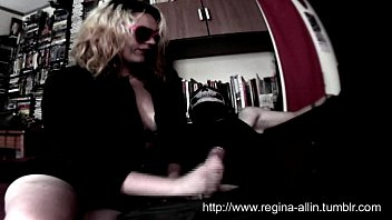 Reghina Allin - #01.2014(trailer) Smoke 'n Handjob, Cum on Hand and Lick