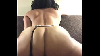Sexy Big Ass Ebony Rides Creamy Toy