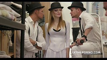 Ria Sunn fucks the Clockwork Gang.100% anal   big swallow