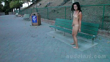Embarassed nude Nude in san francisco: iris naked in public