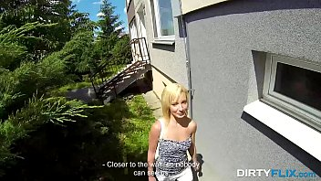 Dirty Flix - Casual cock riding outdoors Iren