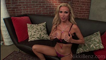 Nikki Benz Loves Big Tit Blondes!