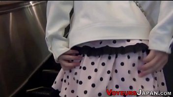 Asian cuties panties seen