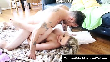 Carmen lectra naked Face fucked carmen valentina gets pussy pounded on floor