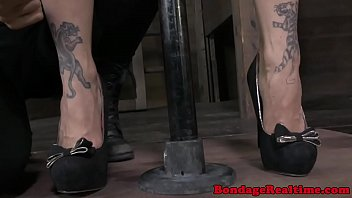 Femdom whipped ass Bondage bdsm bella rossi getting whipped