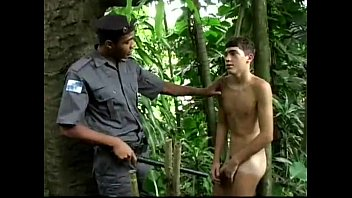 Police officer fucking boy in Brazil!