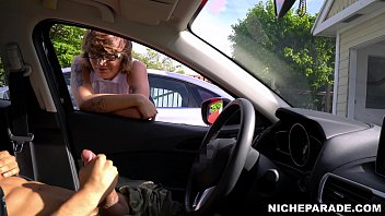 NICHE PARADE - Flashing Dick For Short Haired, Tattooed Emo Girl With Glasses