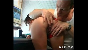 2493047 French Brunette Deep Anal Fucked