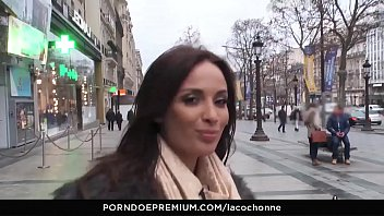 LA COCHONNE - Hard ass fucking for naughty big titted French babe Anissa Kate