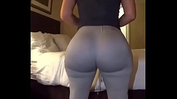 candid leggings biggass
