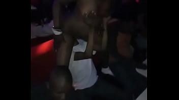 Black girl booty dancing naked Drunk girl dancing naked in club