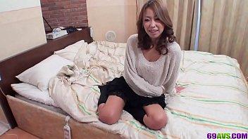 Top home porn in POV action with sensual Miku Natsukawa - More at javhd.net