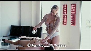 PornPros Sensual massage fuck and facial with freckled Skyla Novea