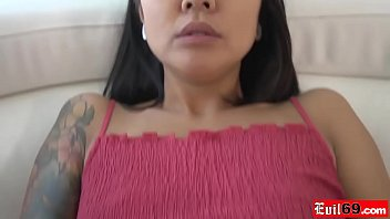 Asian hottie Saya Song needs a guy to make her squirt