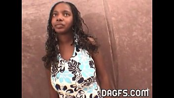 Black women sex with white man Incredible ebony teen blowjob audition at my office