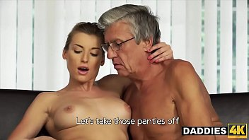 Horny Young Slut Wants To Fuck Her Boyfriend's Dad