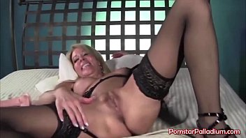 Dildo Titty Fucking Blonde