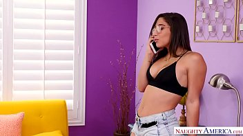 Big thonged ass on Abella Danger fucked! Naughty America