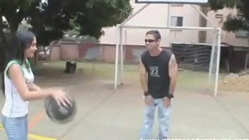 Latin teen bet her Ass Virgin on a basketball game / Complete video -->  http://short.pe/hO0xS