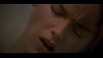 Carly (Sharon Stone) masturbating in Sliver   gym scene