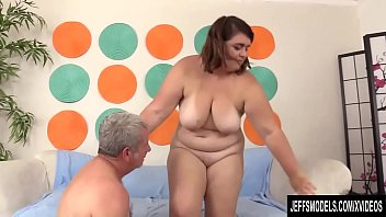 Chubby young model - Young chubby slut maxi pleasures blows and rides a horny older man