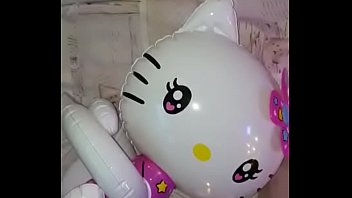 Inflatable Gonfiabile Blowup Hello Kitty Air Doll Vinyl Pvc