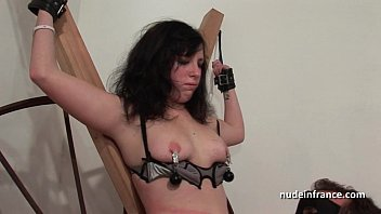 Very skinney nude girls Young french brunette hard sodomized fisted and corrected in bdsm game
